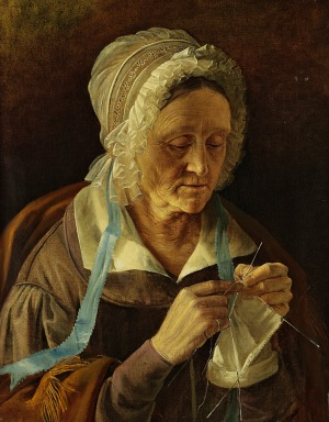 oldwomanknitting_russian1838